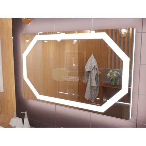 Зеркало с подсветкой для ванной комнаты Потенза