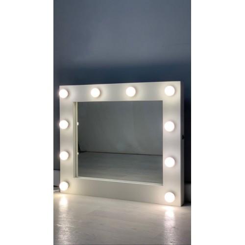 Гримерное зеркало 60х80 с подсветкой лампочками