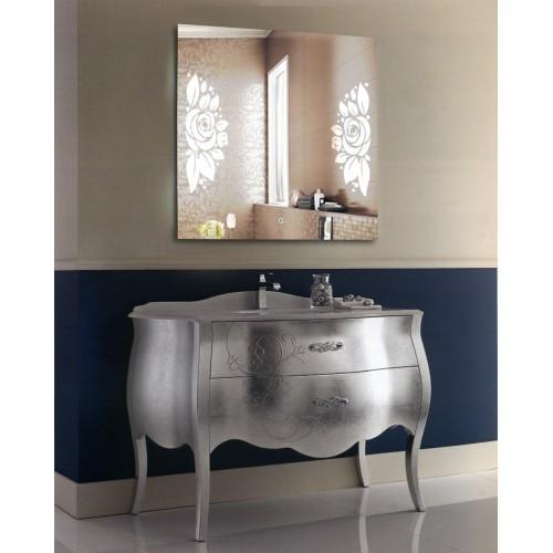 Зеркало для ванной с LED подсветкой София 1200x1200 мм