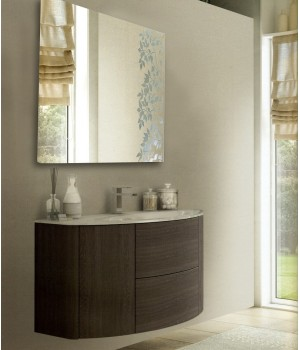 Зеркало квадратное в ванную комнату с подсветкой Майя 120x120 см